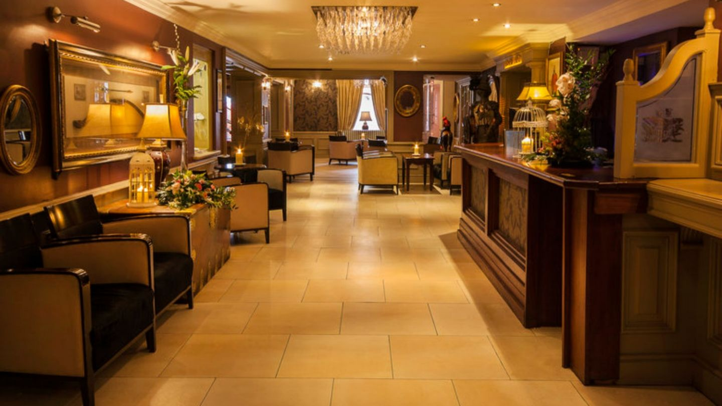 Reception At The Greville Arms Hotel Double Room Accommodation Mullingar